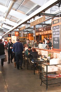 Napa: Oxbow Public Market - Hither and Thither