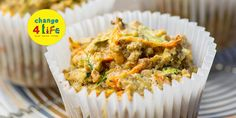 Healthy recipe: Carrot and courgette muffins