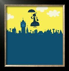 Mary Poppins art