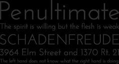 Free Font Josefin Sans by Typemade | Font Squirrel
