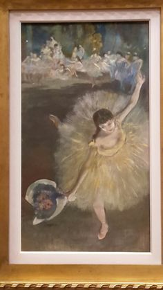 NGV INTERNATIONAL.  Degas: A New Vision Exhibition. July 2016. Photo credit Kerry Hann.