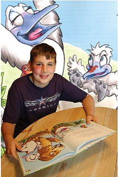 Evan Ducker created and self-published the children's book, Buddy Booby's Birthmark, based on his personal experience living with a facial vascular birthmark.