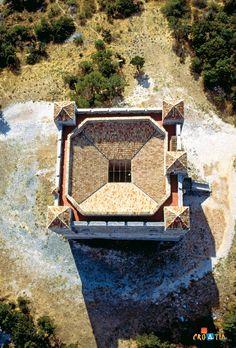 Fortress of Nehaj near Senj, Croatia