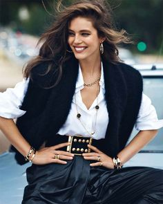 Emily Didonato by Lachlan Bailey for Vogue Paris September 2013 1 Emily Didonato, Vogue Paris, Fashion Week, Fashion Models, Fashion Beauty, Best Street Style, Victorias Secret Models, Vogue Magazine, Look Chic
