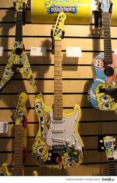 Gitary SpongeBob    http://kwejk.pl/obrazek/1067329#
