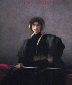 """Painting of the Day!  Alfred-Pierre Agache """"The Sword"""" 1843-1915 French Academic Classical painter and draftsman  Oil on canvas Art Gallery of Ontario Toronto 