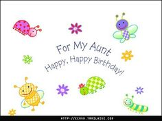 Happy Birthday Aunt Birthday Greetings, Birthday Wishes, Birthday Cards, Happy Birthday Aunt Images, Happy Birthday Wallpaper, Photos For Facebook, Special Day, Wallpapers, Pretty