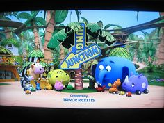 Jungle Junction Cartoon Television Series