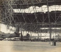 Damaged Hanger at Pearl Harbor, Hickam Field, 1941 Nagasaki, Hiroshima, Pearl Harbor Hawaii, Pearl Harbor Attack, Fukushima, Day Of Infamy, Remember Pearl Harbor, Vietnam, Uss Arizona Memorial