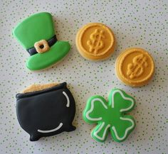 """The sugar makes these pop---especially on the """"pot 'o gold"""""""