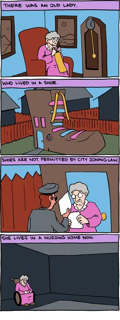 This makes me laugh so much...oh, zoning humor :)  Thanks @Rebecca Geissler