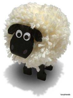 Bekijk de foto van naomivanharen met als titel Schaapje van wol en andere inspirerende plaatjes op Welke.nl.