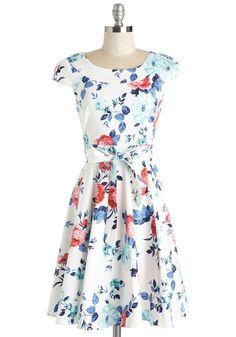 Thanks Floral You've Done Dress