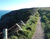 Sea Coast Cliffs Walking Path photo