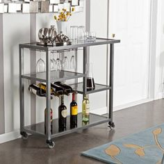 Product Image for Holly & Martin Zephs Bar Cart 2 out of 5