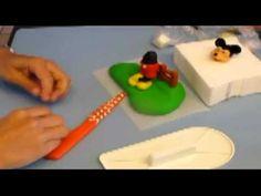 ▶ Modelando a Mickey Mouse 2ª Parte - YouTube