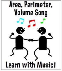 Area, Perimeter, and Volume Song