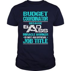 Awesome Tee For Budget Coordinator T-Shirts, Hoodies. Get It Now ==►…
