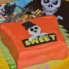 tarta halloween Fondant, Lunch Box, Halloween, Cake, Sweet, Desserts, Food, Cookies, Pastries