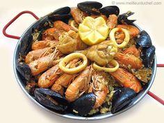 Paëlla - La recette illustrée - Le plat espagnol ! - MeilleurduChef.com