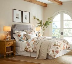 The epitome of coastal style for your bed.