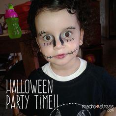 Sofi de cumple. Halloween party time!!