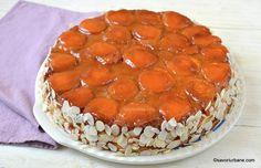 Prăjitură răsturnată cu caise, zahăr ars și pandișpan pufos sau tort cu caise și migdale | Savori Urbane Cupcakes, Cake Cookies, Romanian Food, Muffins, Something Sweet, Pudding, Tiramisu, Nom Nom, Deserts