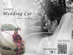 Isha Creations Home page Wedding Car, Luxury Wedding, Creation Homes, Celebration Day, Shop Usa, The Dreamers, New Fashion, Car Rental, Big