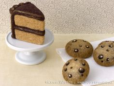 Needle Felted Cake & Cookies : Felted Food : Kerri Wessel : Fuzz.e.Food