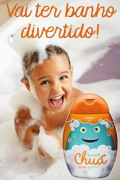 Muita diversão com Biocrema Chuá!  #Biocrema #Chuá #Shampoo