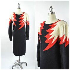 a5b45ed8b5c07 7 Best Vintage John Richard Sweater Dresses images