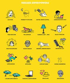 Omg! I have some of these super powers!!!