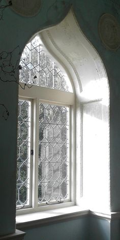 Forget the view . . . I could look at this gorgeous window all day long!