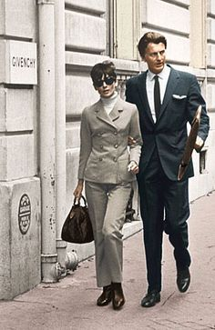 my godmother worked years at Givenchy as a private conselor in a way, so she knew both of them, Audrey Hepburn & Hubert de Givenchy