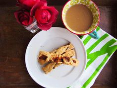Coffee and biscotti?  Yes, please