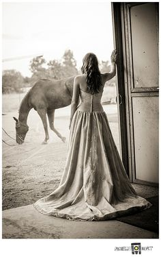 A Girl and her Horse… » Rochelle Mort Studio