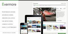 Evermore - Premium Responsive WordPress Theme