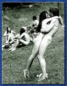 John Lennon and Yoko One. Some time in the 1960's I think