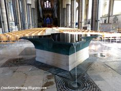 Cranberry Morning: Salisbury Cathedral, Part B, Anglophile Friday