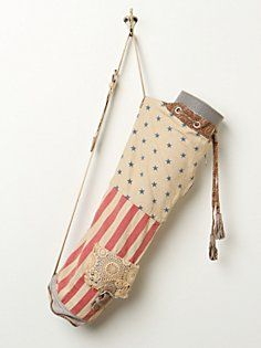 Floral Flag Yoga Bag in whats-new
