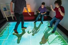 Watch: A Crazy Floor Senses And Mirrors Your Every Move