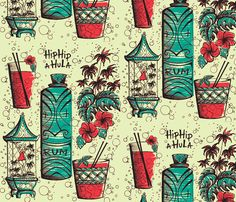 The colors are good, the tiki is good, even the drinks are fine, but I want a dark background so it doesn't get dirty as easily and I hate the birdcage and flowers