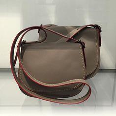 Artfully crafted + timeless saddle bag @coach #saddlebag #satchel #handbag #CoachSpring2016 #Coach1941 @pixxyapp
