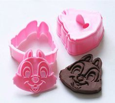 Novelty Chippy Fondant Mold Cookie Cutter