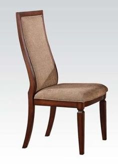 ACME 70622 Shelton Side Chair, Walnut Finish, Set of 2 - The price dropped 9%