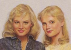 The Wakefield twins of Sweet Valley High