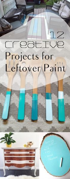 12 Creative Projects for Leftover Paint