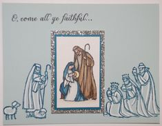 Spotlight - Come All Ye Faithful by stampinrachel - Cards and Paper Crafts at Splitcoaststampers