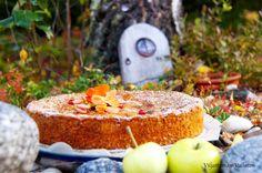 Viljattoman Vallaton: Puolukka-omenakakku