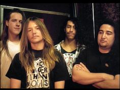 One of the oldest Fear Factory photos I have ever seen. 1991